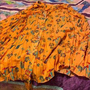 Lularoe maxi wrap skirt